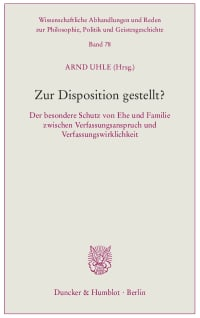 Cover Zur Disposition gestellt?
