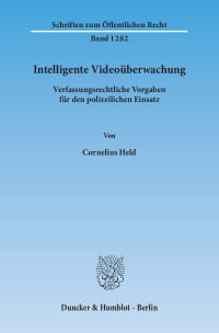 Cover Intelligente Videoüberwachung