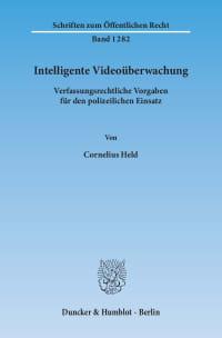 Cover Intelligente Videoüberwachung