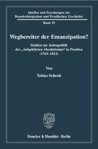 Cover Wegbereiter der Emanzipation?
