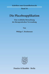 Cover Die Placeboapplikation