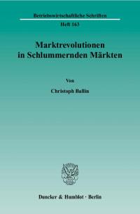 Cover Marktrevolutionen in Schlummernden Märkten
