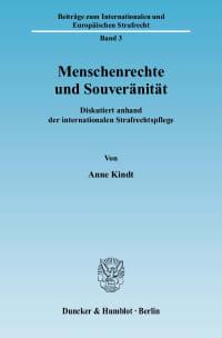 Cover Menschenrechte und Souveränität