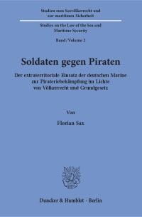 Cover Soldaten gegen Piraten