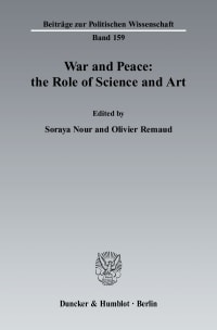 Cover War and Peace: the Role of Science and Art