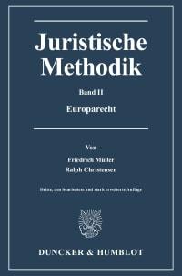 Cover Juristische Methodik