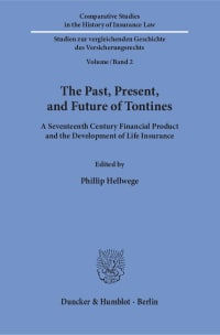 Cover The Past, Present, and Future of Tontines
