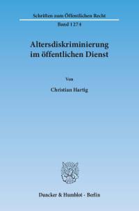 Cover Altersdiskriminierung im öffentlichen Dienst