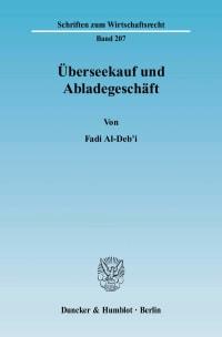 Cover Überseekauf und Abladegeschäft