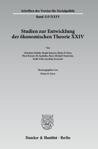 Cover Wechselseitige Einflüsse zwischen dem deutschen wirtschaftswissenschaftlichen Denken und dem anderer europäischer Sprachräume