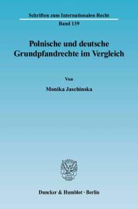 Cover Polnische und deutsche Grundpfandrechte im Vergleich