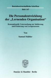 Cover Die Personalentwicklung der