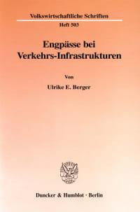 Cover Engpässe bei Verkehrs-Infrastrukturen