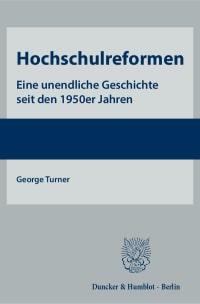 Cover Hochschulreformen