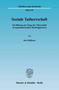 Cover Soziale Tatherrschaft