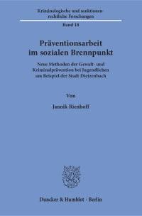 Cover Präventionsarbeit im sozialen Brennpunkt