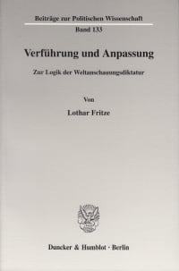 Cover Verführung und Anpassung