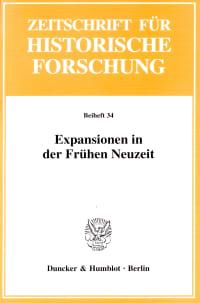 Cover Expansionen in der Frühen Neuzeit