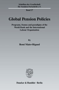 Cover Global Pension Policies