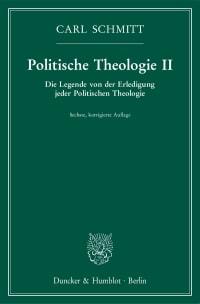 Cover Politische Theologie II