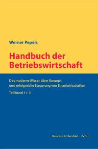 Cover Handbuch der Betriebswirtschaft