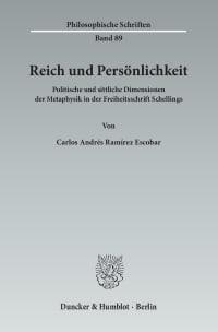 Cover Reich und Persönlichkeit