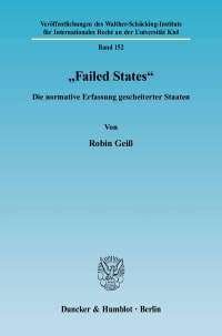 Cover »Failed States«