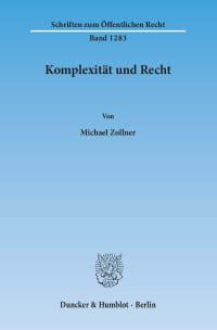 Cover Komplexität und Recht