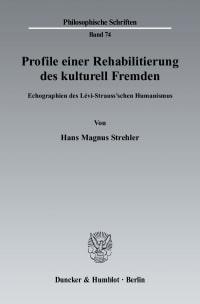Cover Profile einer Rehabilitierung des kulturell Fremden