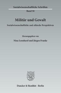 Cover Militär und Gewalt