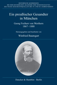 Cover Ein preußischer Gesandter in München