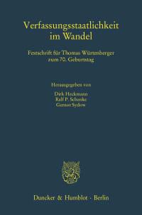 Cover Verfassungsstaatlichkeit im Wandel