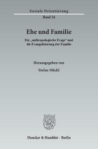Cover Ehe und Familie