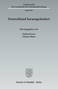 Cover Deutschland herausgefordert