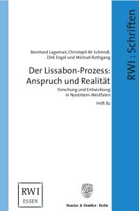 Cover Der Lissabon-Prozess: Anspruch und Realität