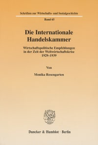 Cover Die Internationale Handelskammer