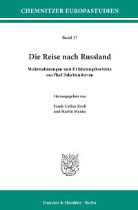 Cover Die Reise nach Russland