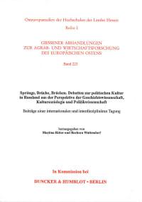 Cover Sprünge, Brüche, Brücken
