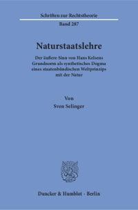 Cover Naturstaatslehre