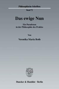 Cover Das ewige Nun