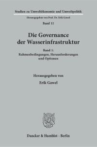 Cover Die Governance der Wasserinfrastruktur