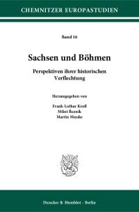 Cover Sachsen und Böhmen