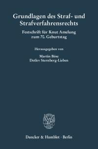 Cover Grundlagen des Straf- und Strafverfahrensrechts