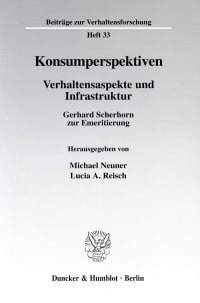 Cover Konsumperspektiven