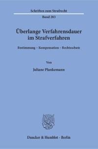 Cover Überlange Verfahrensdauer im Strafverfahren