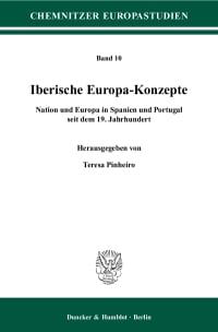 Cover Iberische Europa-Konzepte