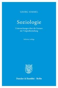Cover Soziologie