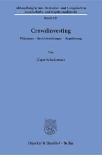 Cover Crowdinvesting