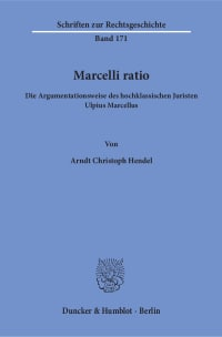Cover Marcelli ratio