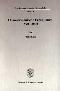 Cover US-amerikanische Erzählkunst 1990-2000
